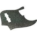Toronzo Pickguard JB-2PLY-Sparkle Black