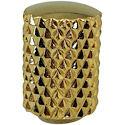 Mini Dome Knob M4 12x14 Gold