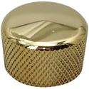 Cupcake Dome Knob Gold