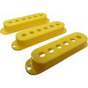 Strat Pickup Cover Set Yellow