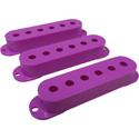 Strat Pickup Cover Set Purple