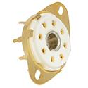 Tube Socket Octal PC8-GOLD