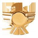 Grover Eagle Button, gold