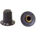 Fluted Knob MESA-22-R-Black