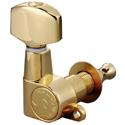 Schaller Machine Head M6 6 left/ 6 right Gold