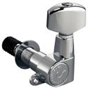 Schaller Machine Head M6 Top-locking 3 left/ 3 right Nickel