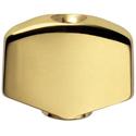 Schaller Guitar-Button 1-SP. Gold