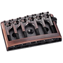Schaller Guitar bridge 3D-6 Vintage Copper