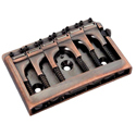 Schaller Guitar bridge 3D-6 Piezo Vintage Copper