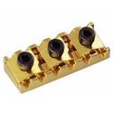 Schaller Tremolo locking nut. R6 Gold