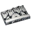 Schaller Bass bridge 3D-4. 4-string. Nickel