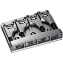 Schaller Bass bridge 3D-4 4-string Satin Chrome