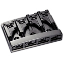 Schaller Bass bridge 3D-4 4-string Ruthenium