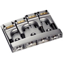 Schaller Bass bridge 3D-4 Piezo 4-string. Satin Pearl