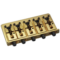 Schaller Bass bridge 2000 Piezo 5-string Gold