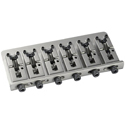 Schaller Bass bridge 2000 Piezo 6-string Nickel