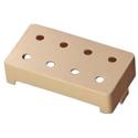 Schaller SC901720 cover 8 Hole Bass ABS Cream